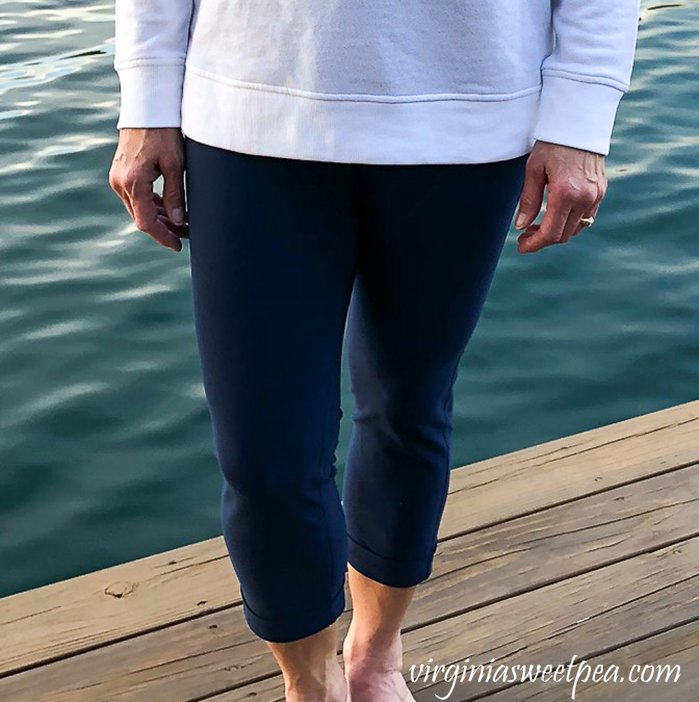 Stitch Fix Review for April 2020 - MPG Sport Raelynn cuffed Performance Legging
