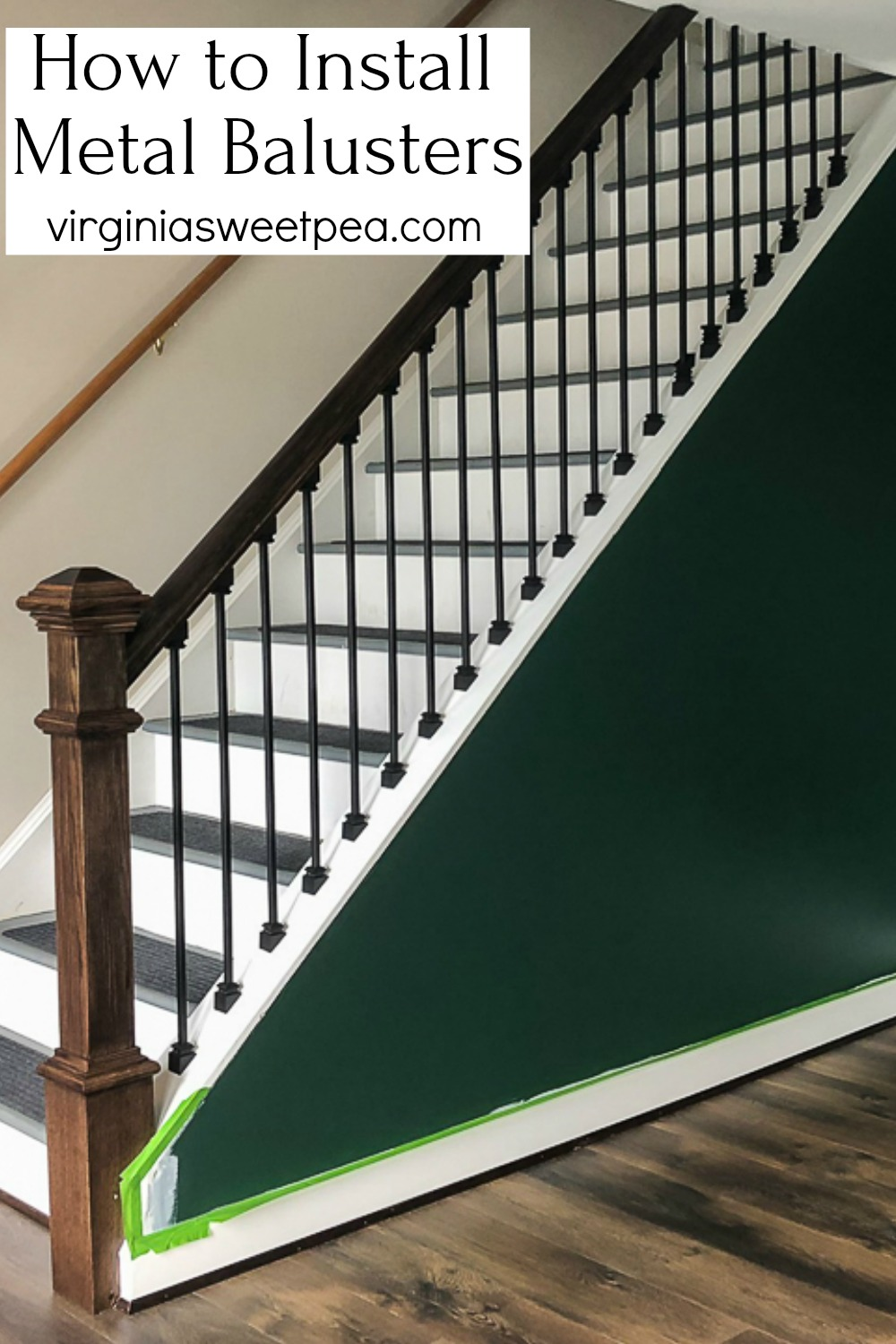 How to Install Metal Balusters