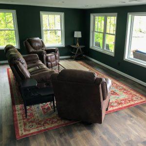 Lake House Basement Family Room