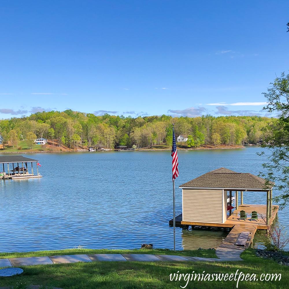 Lake view at Smith Mountain Lake, VA