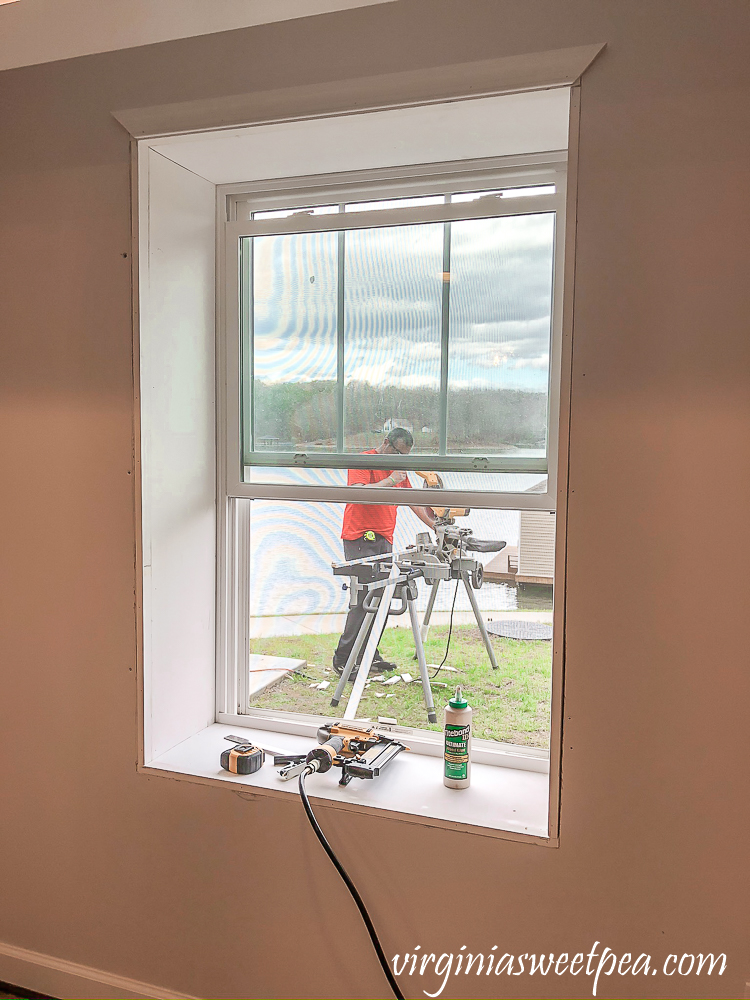 Adding trim to a window