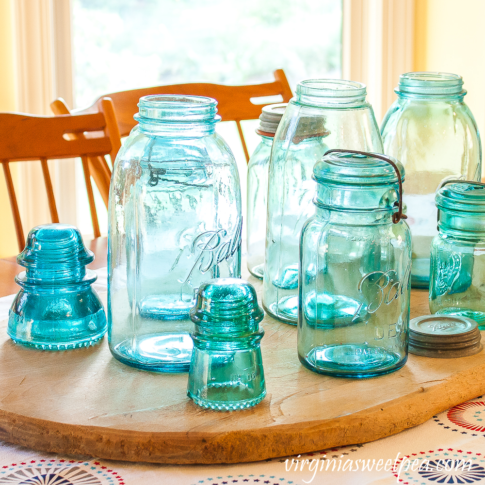 Vintage Ball Jar Centerpiece