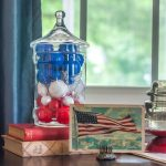 Patriotic Vignette with Vintage