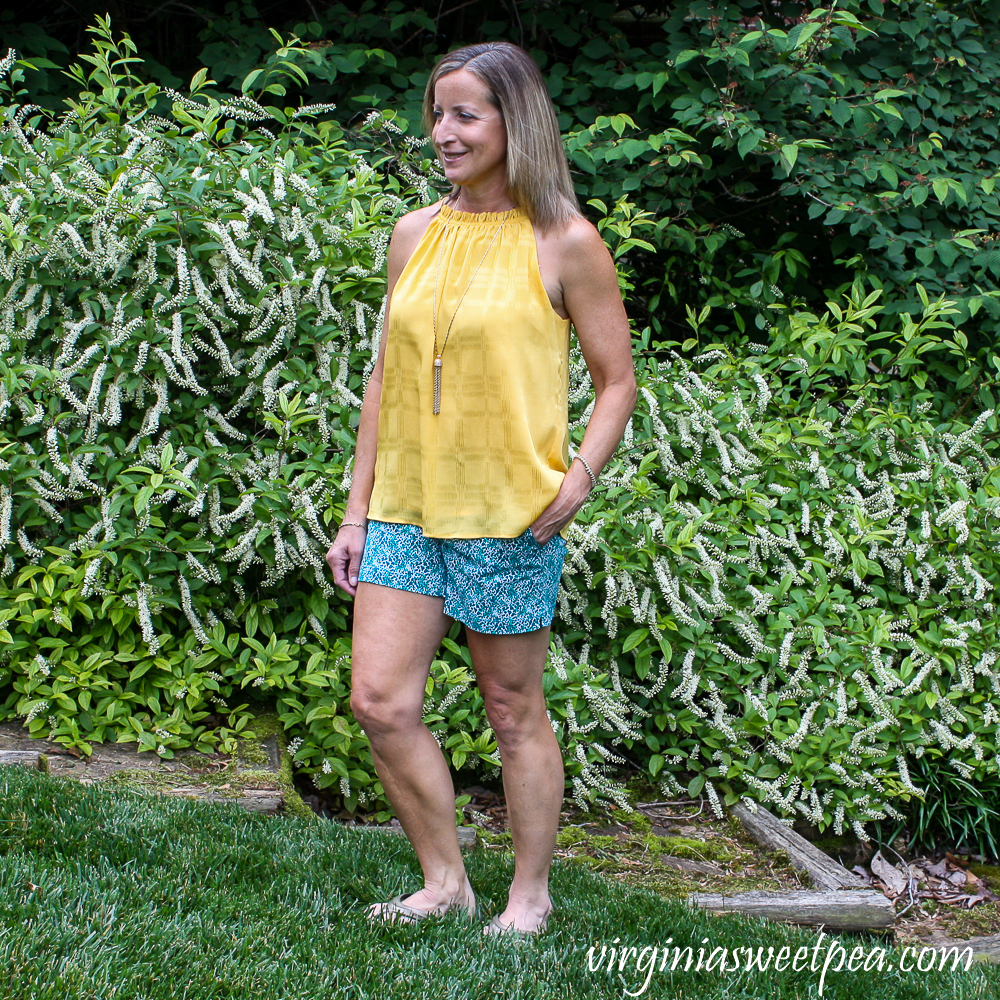 Stitch Fix Review for June 2020 - Market & Spruce Lorraine Short