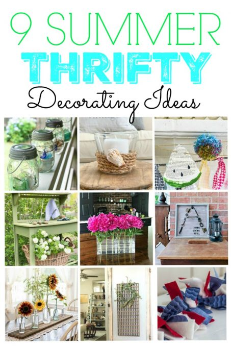 9 Thrifty Summer Decorating Ideas