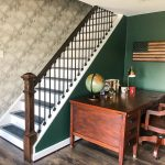 Wallpapered Stairwell Reveal