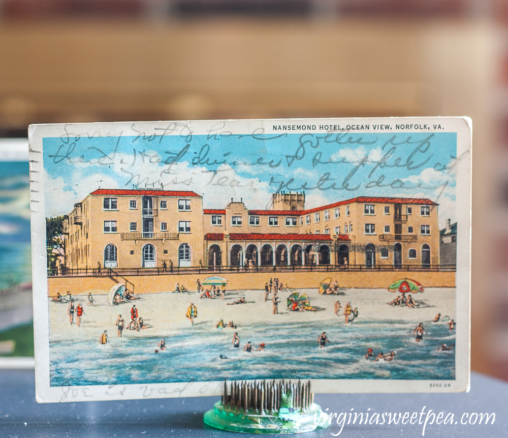 Postcard from Nansemond Hotel, Ocean View, Norfolk, VA