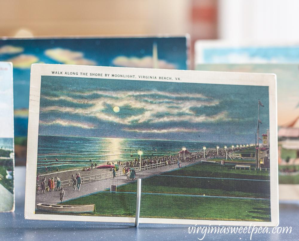 Vintage Virginia Beach postcard postmarked 1934