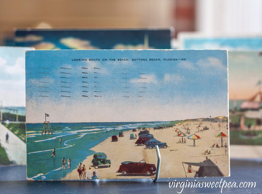 Vintage Daytona Beach postcard postmarked August 13, 1953
