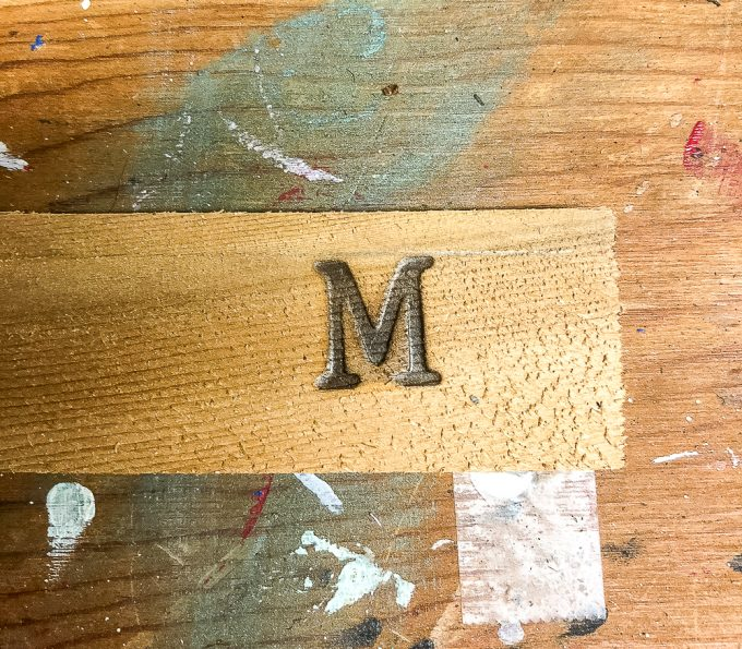 Tutorial to make plant markers using wooden shims and a wood burning tool kit.