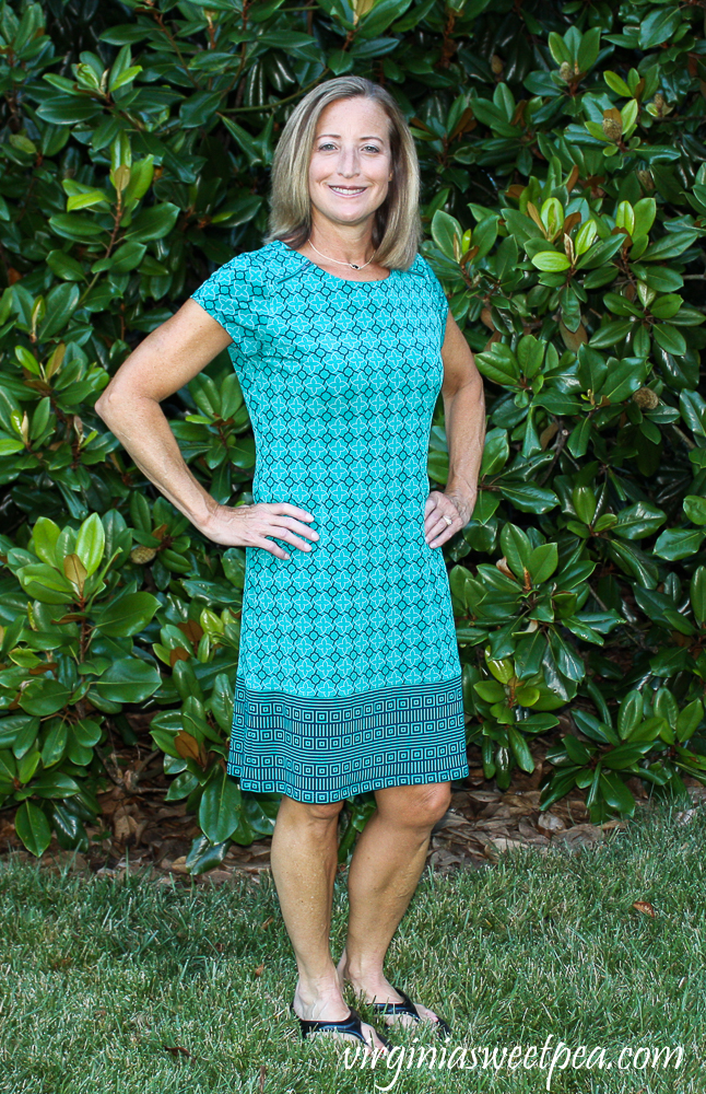 Stitch Fix Review for August 2020 - Market & Spruce Lainey Zipper Detail Knit Dress