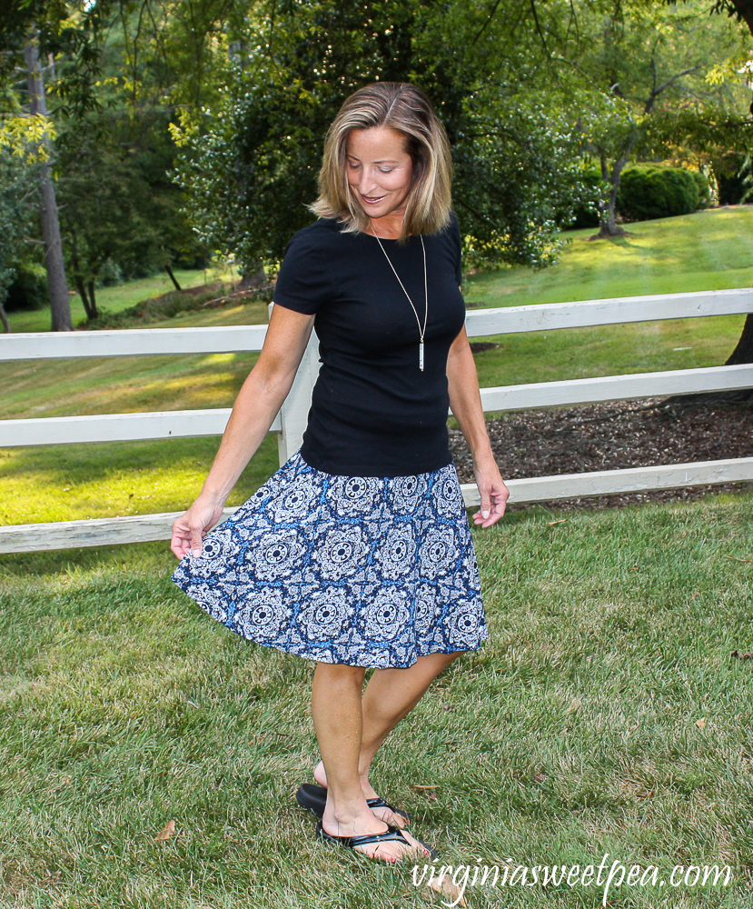 Stitch Fix Review for August 2020 - Max Studio Leta Knit Skirt