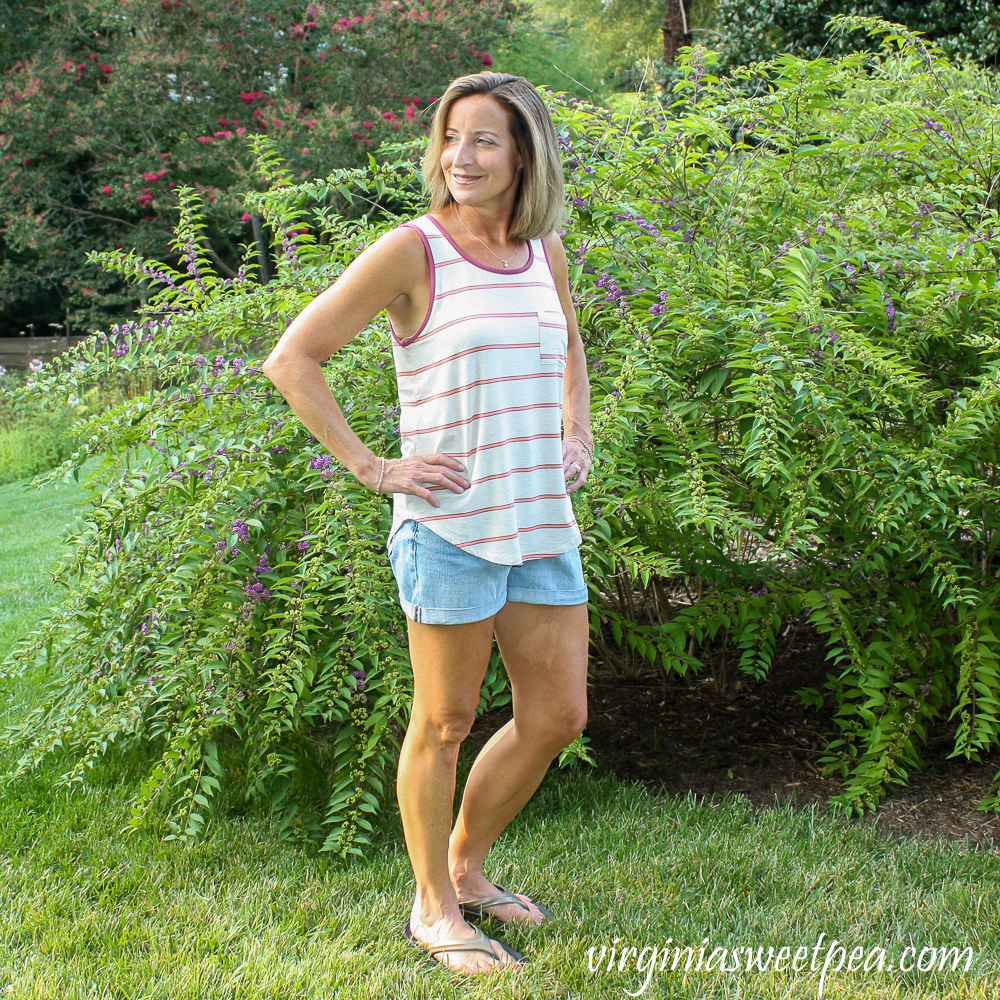 Stitch Fix Mix by 41 Hawthorn Egan One Pocket Knit Top