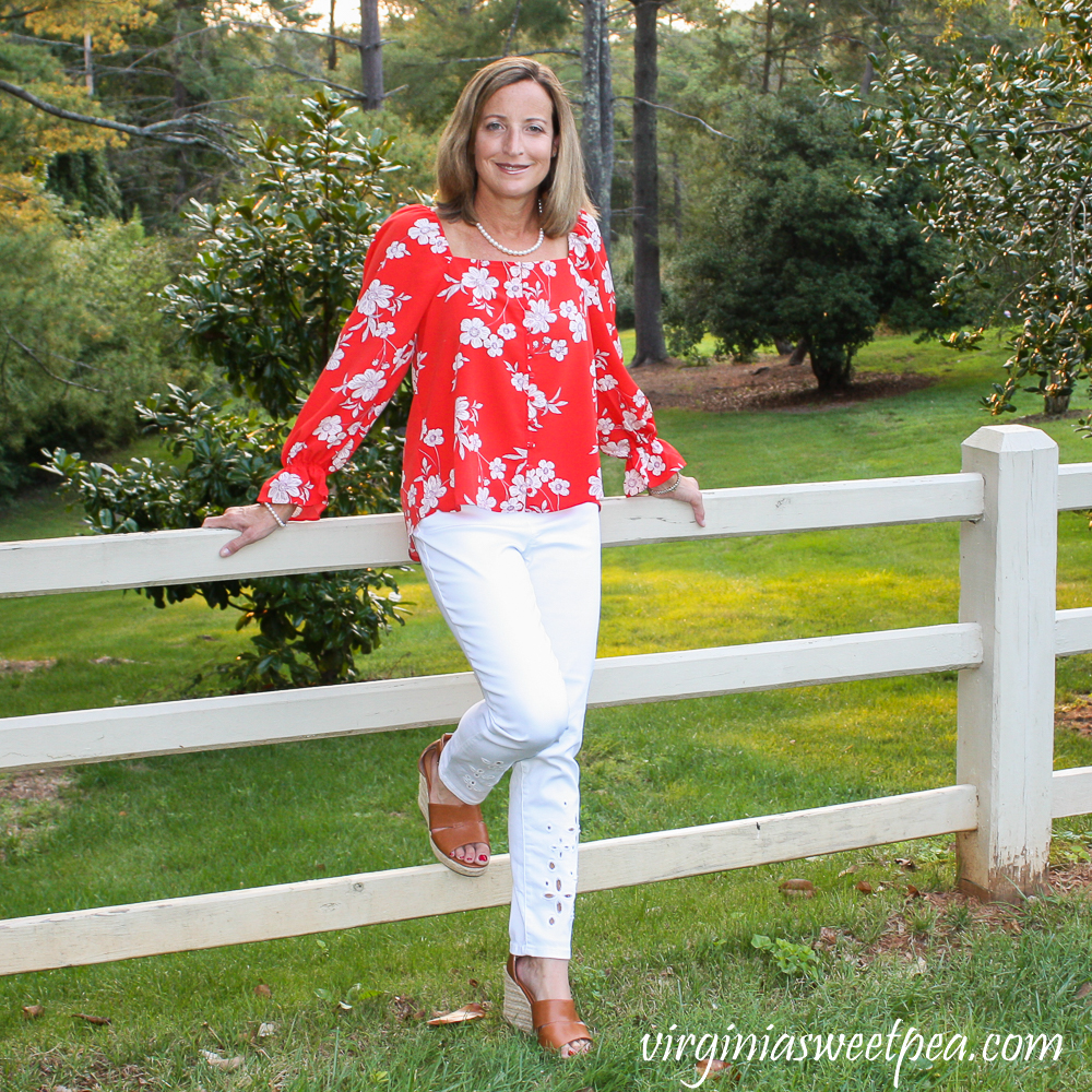 Stitch Fix Sanctuary Gilberta Blouson Top