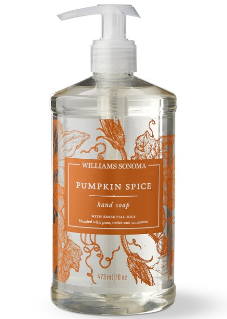 Williams Sonoma Pumpkin Spice Soap