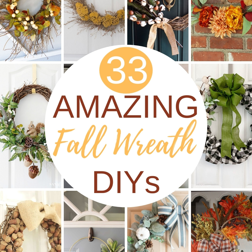 DIY ideas for making a fall wreath
