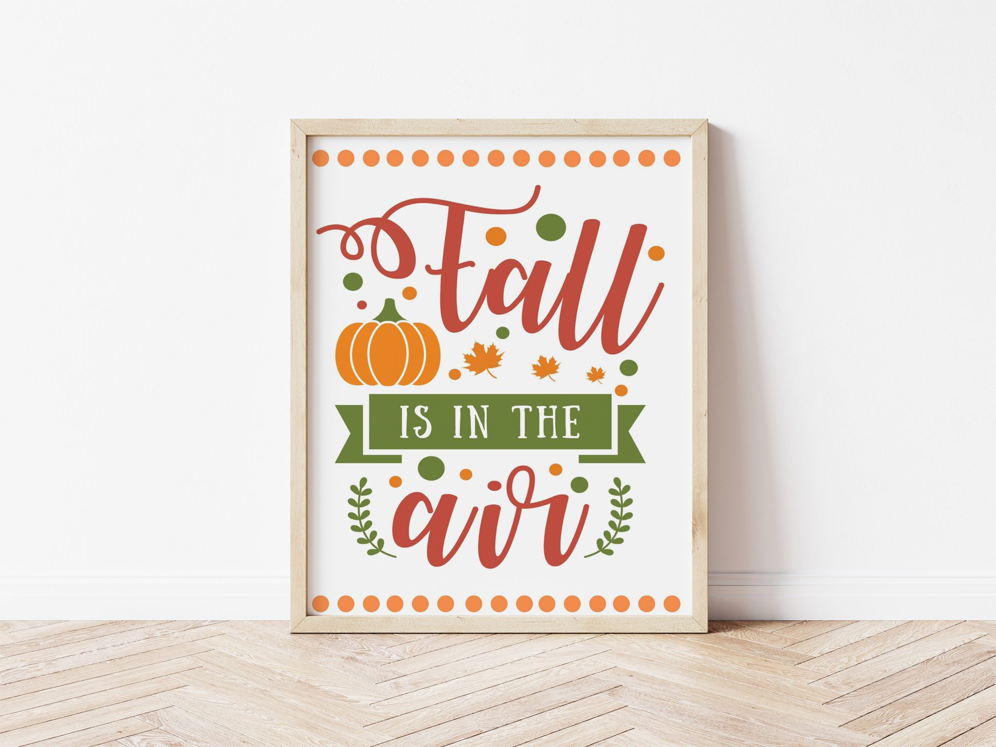Fall is in the Air Free Printable