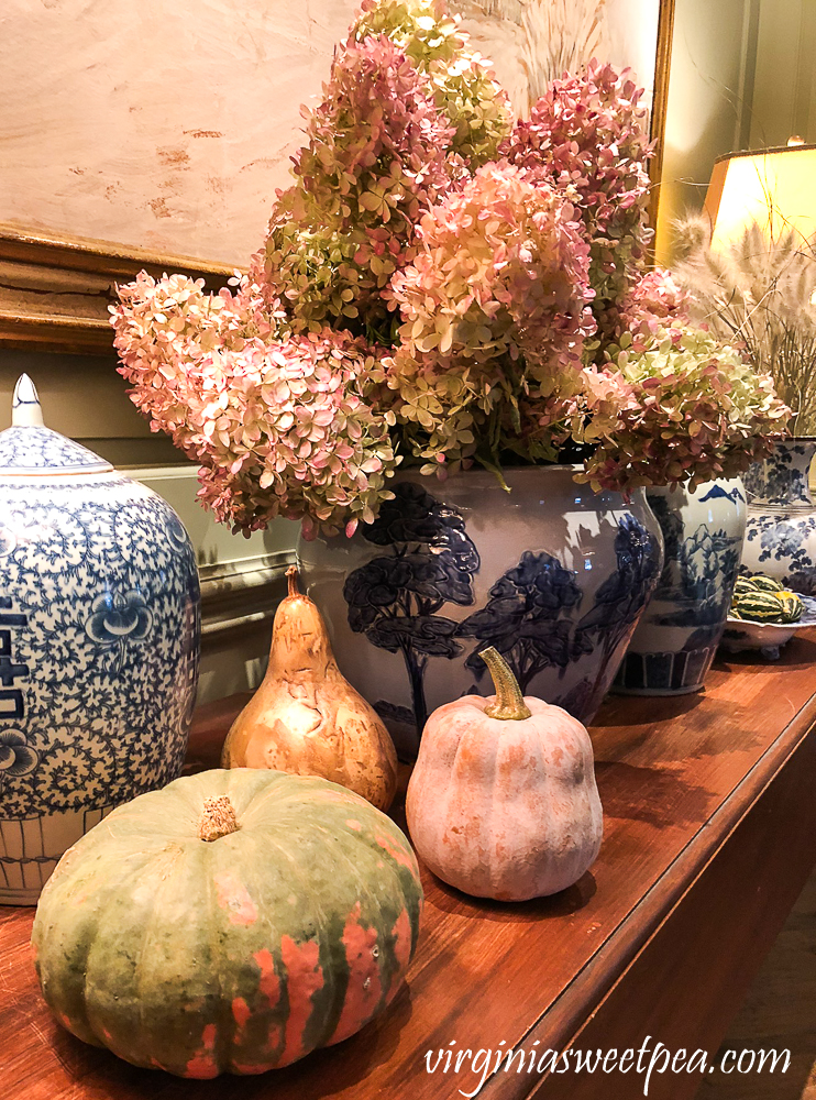 Fall decor in The Woodstock Inn
