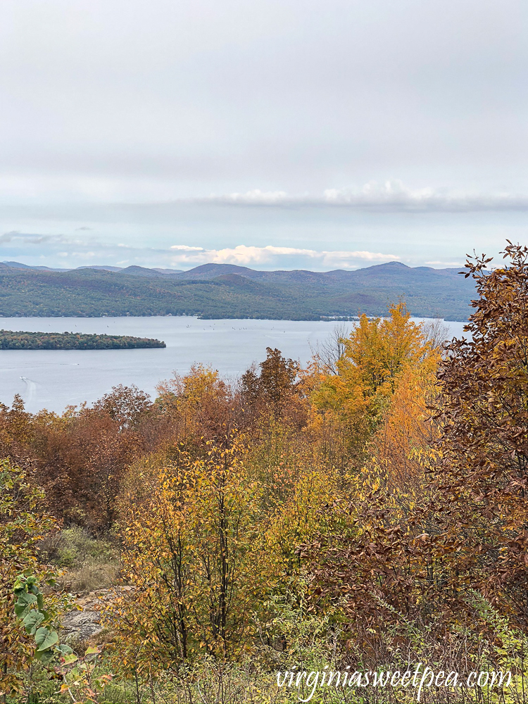 View of Lake George from Pilot Mountain