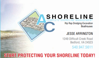 AC Shoreline business card Jesse Arrington