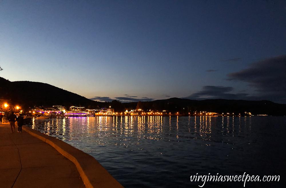 Lake George at Night