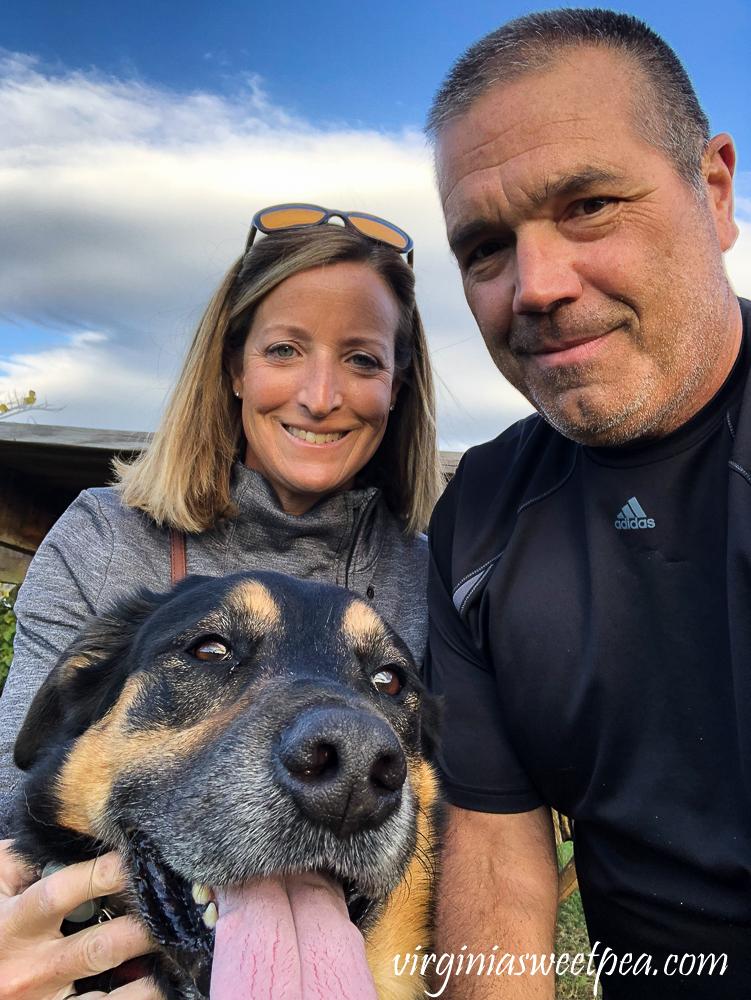 Woman, man, dog Williamsport, MD