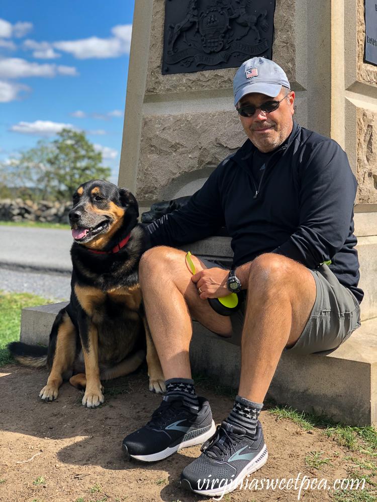 Gettysburg National Military Park - Sally Ann Jarrett Memorial