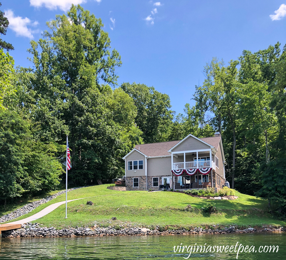 Smith Mountain Lake, VA home with shoreline in need of new riprap