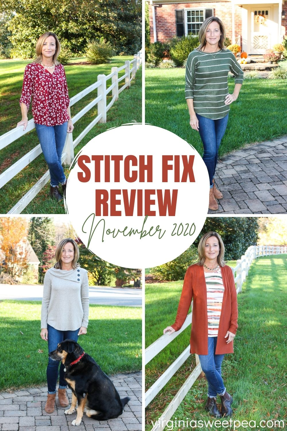 Stitch Fix Review for November 2020 - See styles perfect to enjoy wearing in both fall and winter.  #stitchfix #stitchfixreview  via @spaula