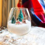How to Create a Winter Scene in a Jar