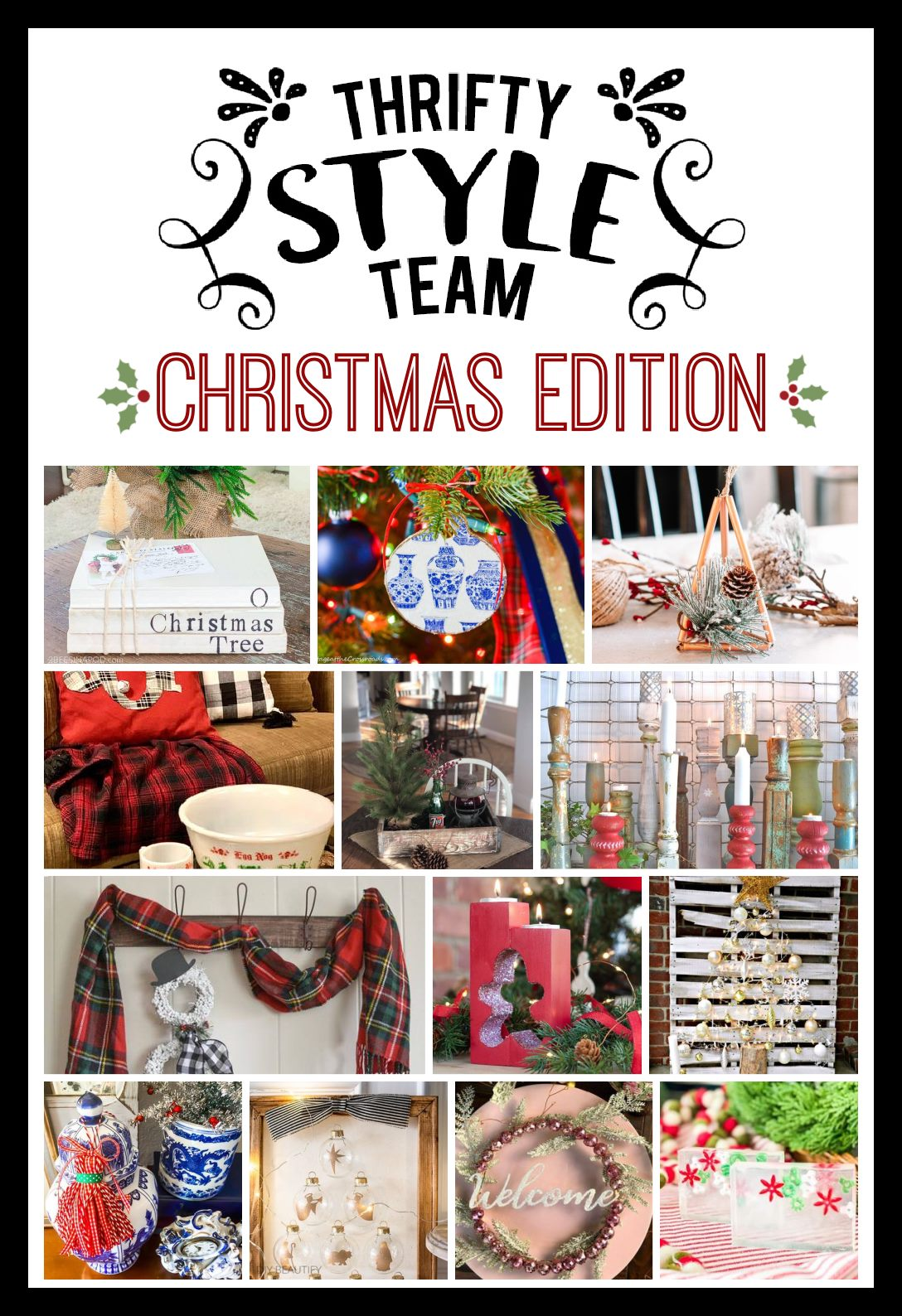 13 Thrifty Christmas DIY Projects
