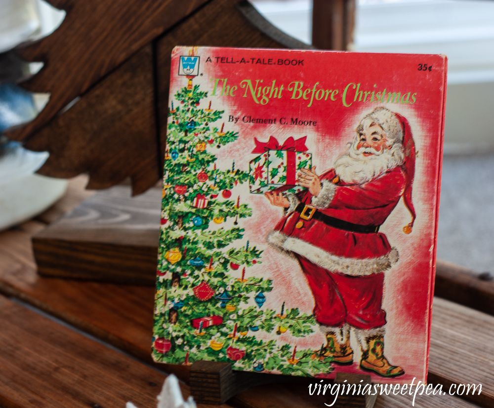 1970s A Tell-A-Tale The Night Before Christmas book