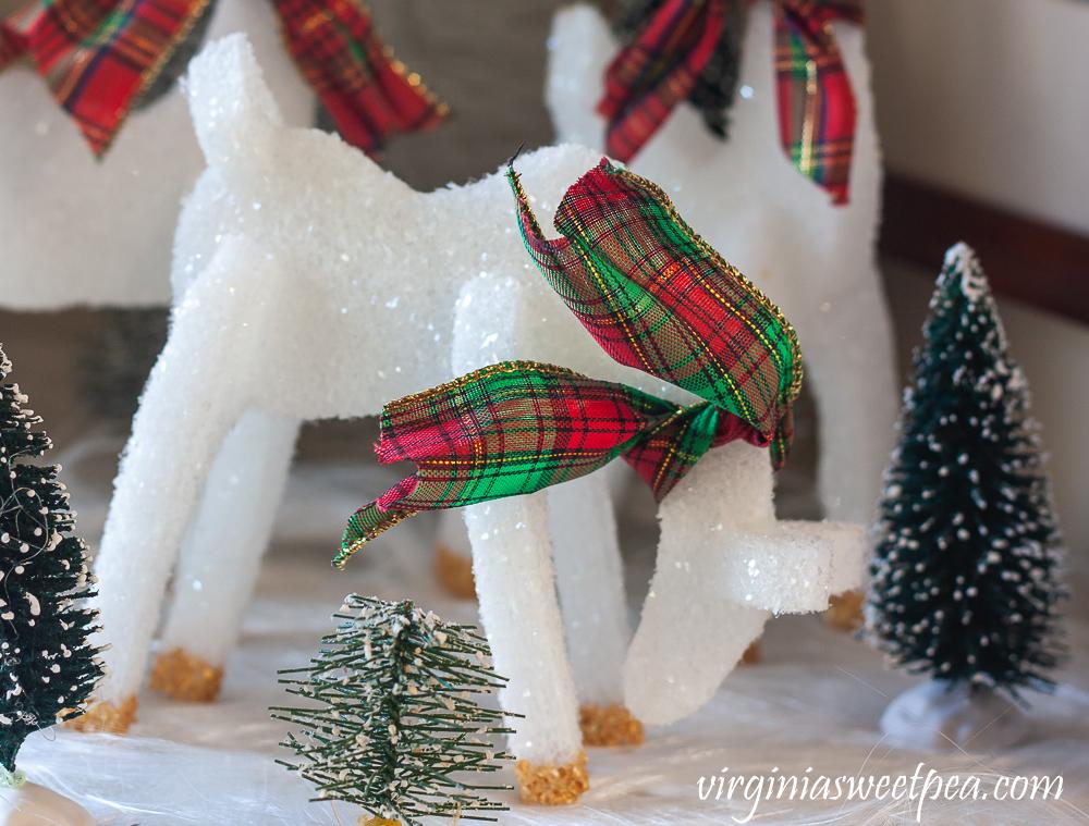 Reindeer made from FloraCraft Styrofoam