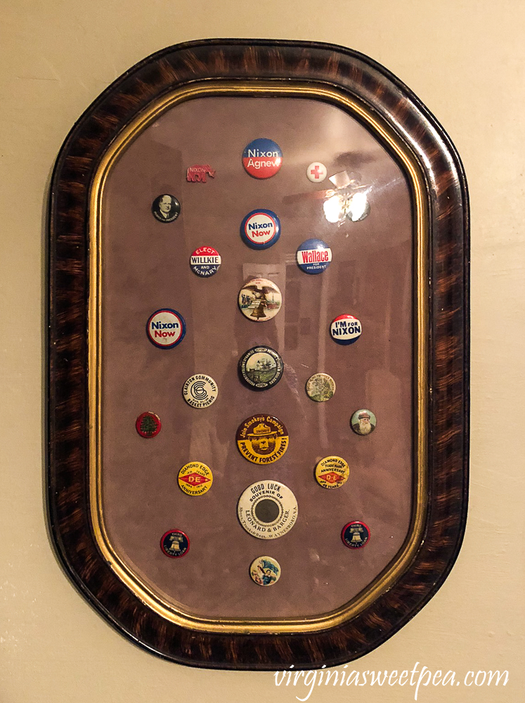 Framed Vintage Buttons