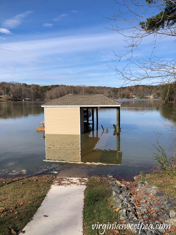 Flooding at Smith Mountain Lake
