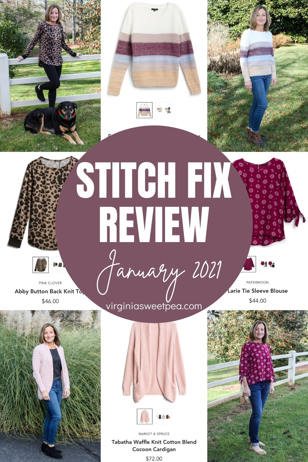 My January Stitch Fix box included styles perfect to enjoy this winter. See what my stylist selected for me to try! #stitchfix #stitchfixreview  via @spaula