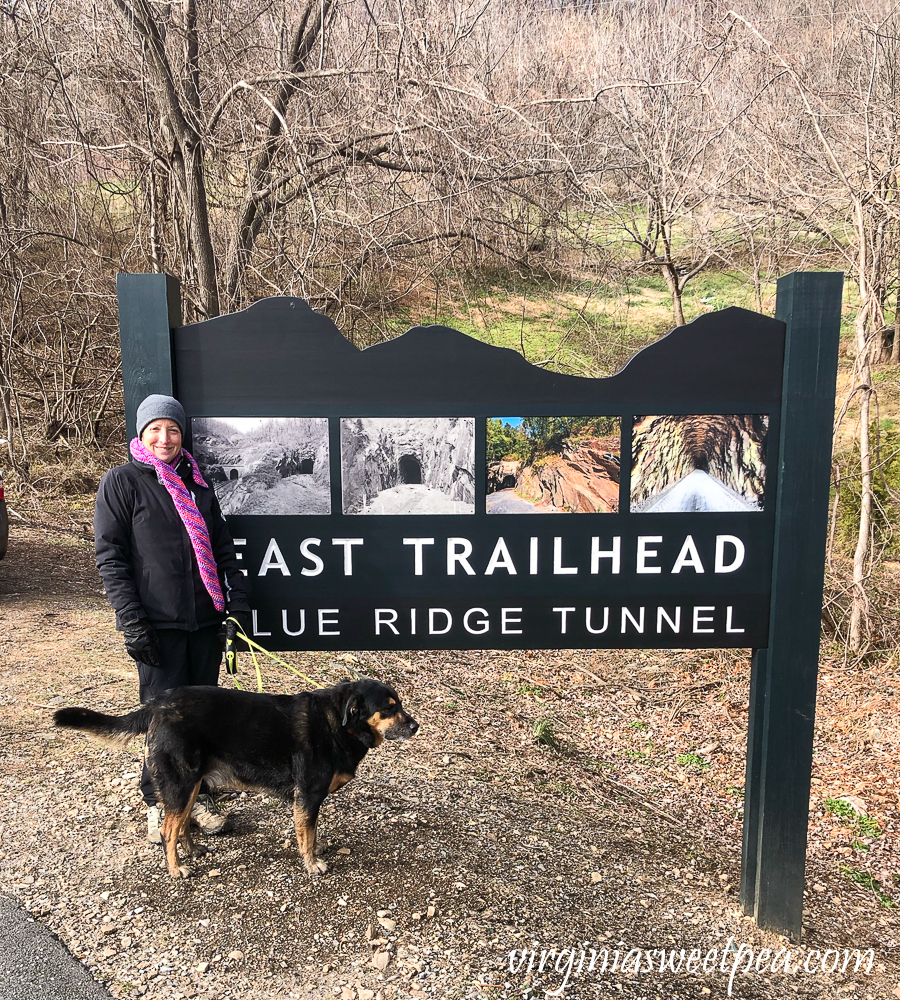 East Trailhead of the Blue Ridge Tunnel in Afton, Virginia