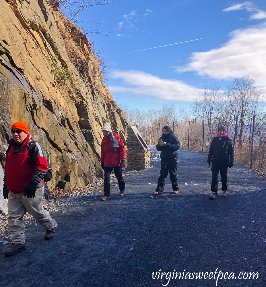 Hiking the Blue Ridge Tunnel Trail in Afton, Virginia - East side of the Trail