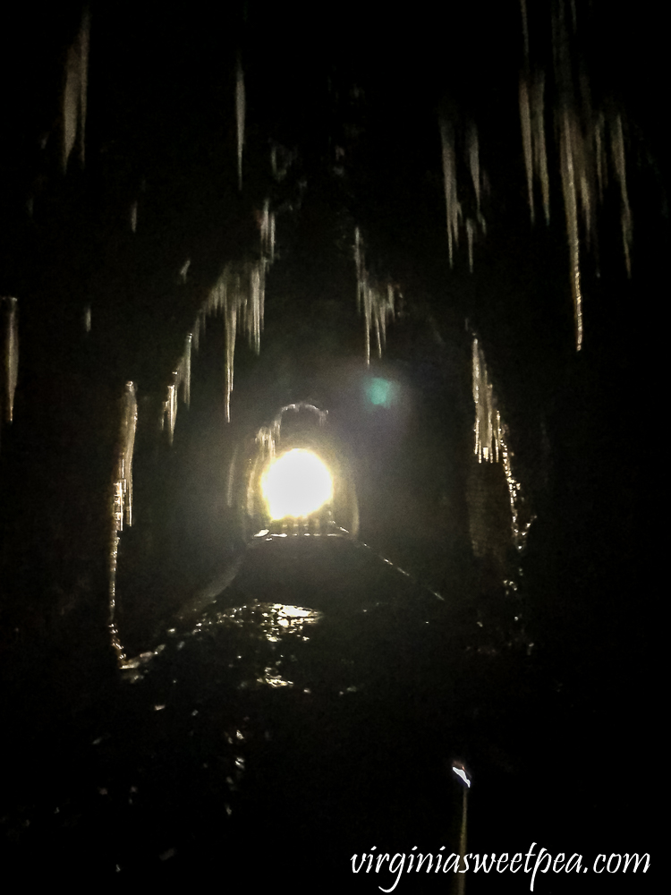 Icicles in The Blue Ridge Tunnel, December 2020