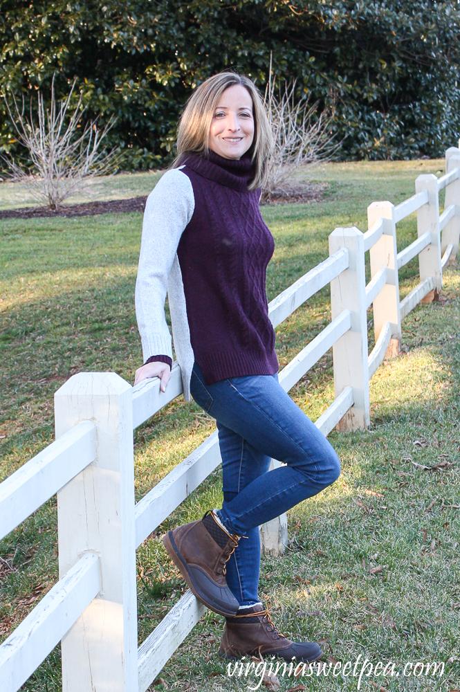 Stitch Fix Market & Spruce Bernice Cowl Neck Pullover