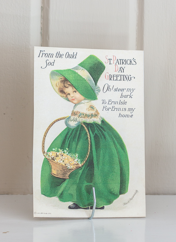 From the Ould Sod St. Patrick's Day Greeting vintage postcard