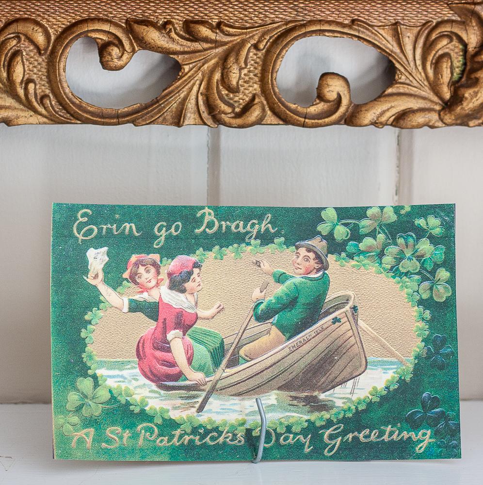 Erin go Bragh A St. Patrick's Day Greeting vintage postcard