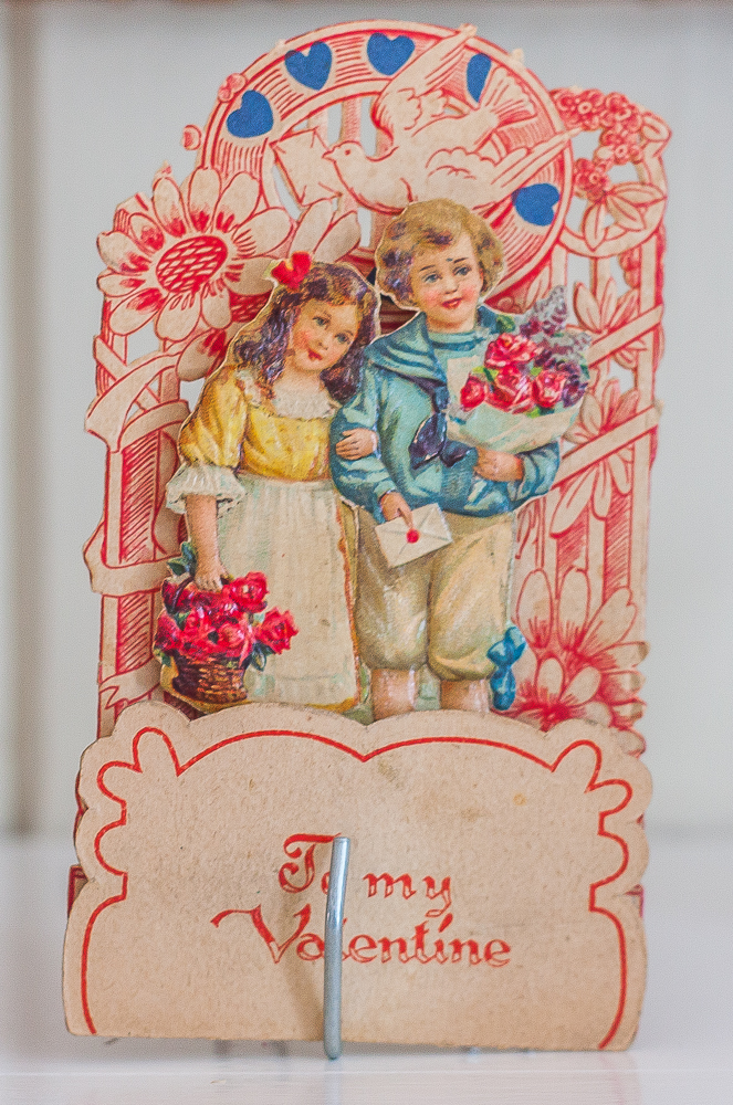 Early 1900s vintage Valentine's Day card