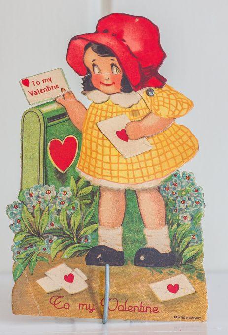 1920s vintage Valentine's Day card