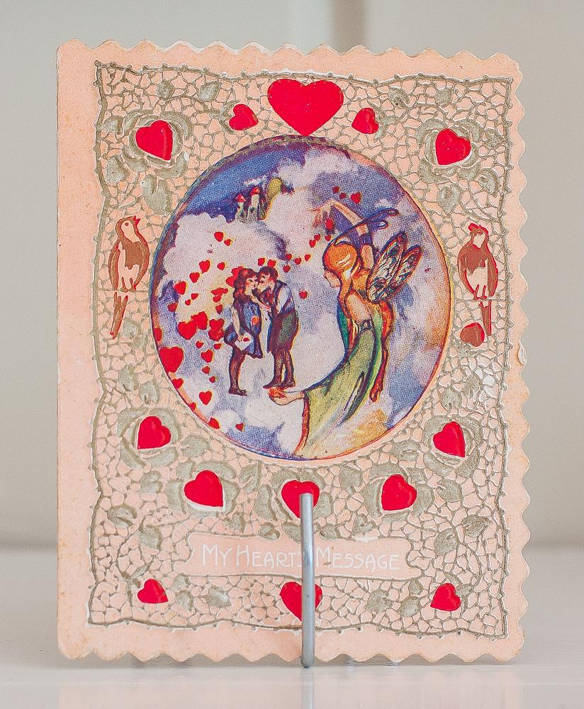 1920s Valentine's Day card