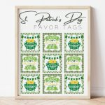 12 square St. Patrick's Day Free Printable Tags