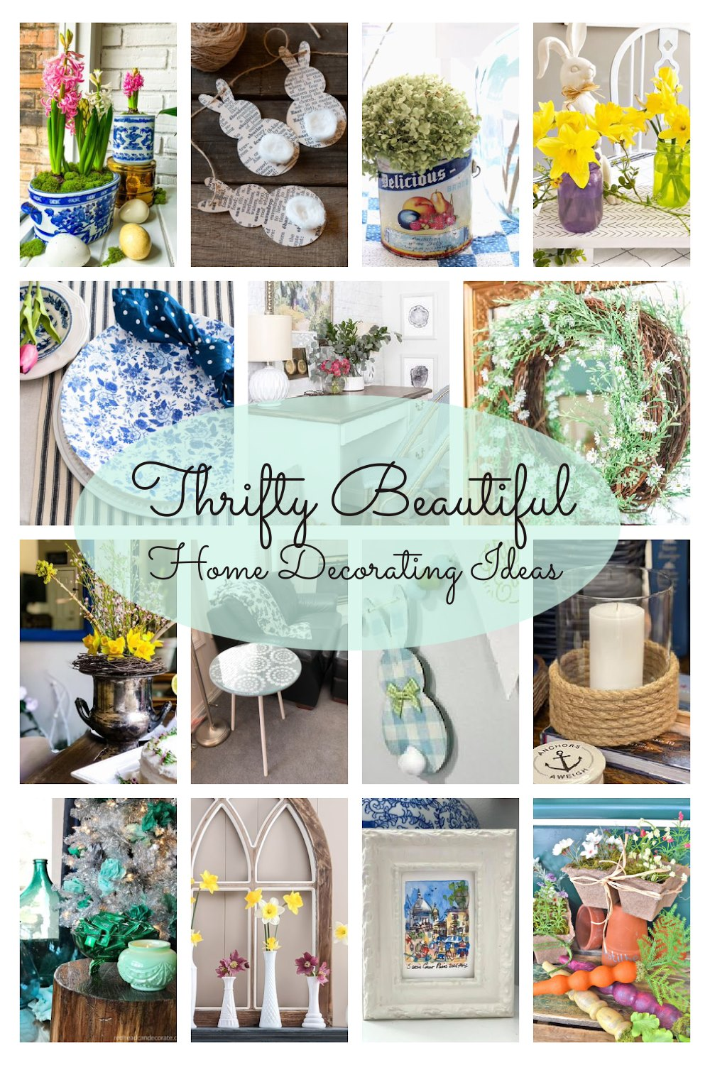 15 Thrifty Beautiful Home Decorating Ideas