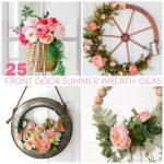25 Front Door Summer Wreath Ideas