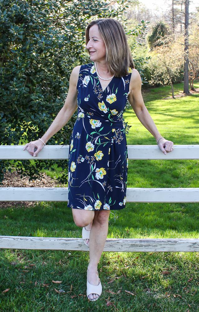 Stitch Fix Hailey 23 Seanna Faux Wrap Knit Dress