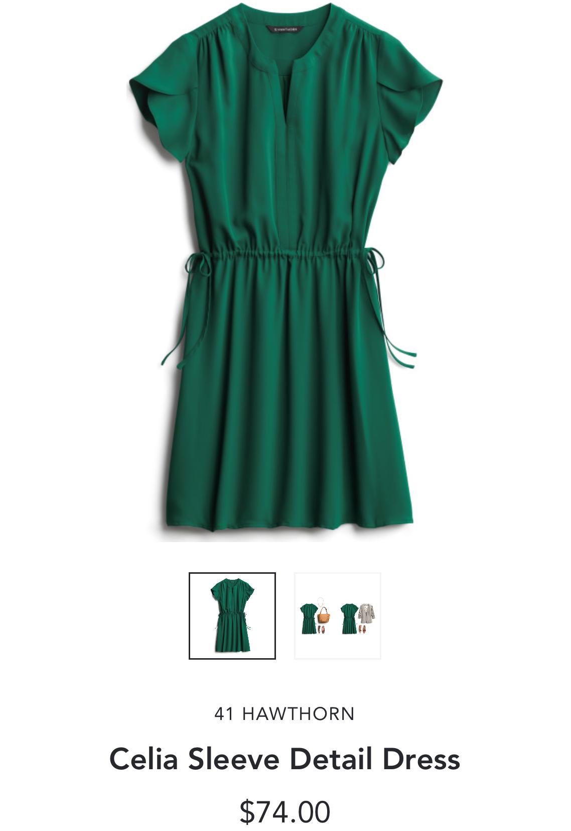 Stitch Fix 41 Hawthorne Celia Sleeve Detail Dress